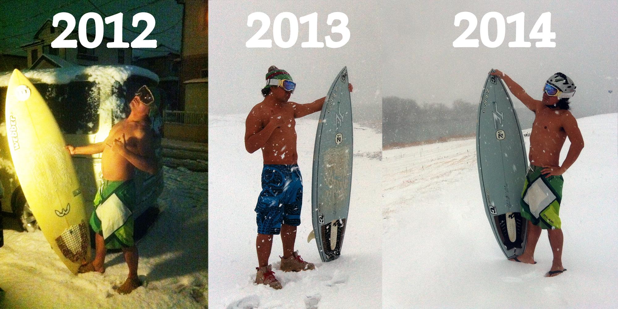 スノーサーフ2014